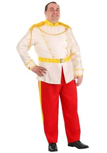 Cinderella Prince Charming Plus Size Costume