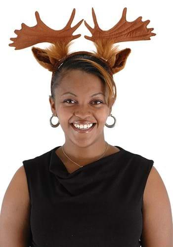 Headband Moose Ears & Antlers