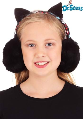 Click Here to buy Adjustable Earmuffs The Cat in the Hat from HalloweenCostumes, CDN Funds & Shipping