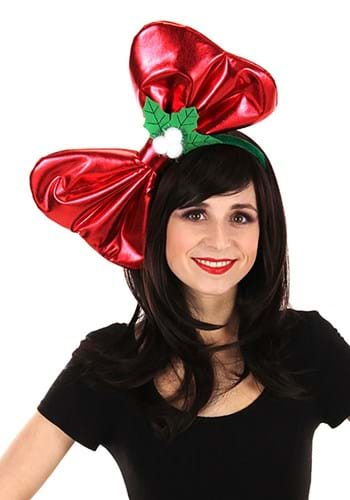 Giant Christmas Bow Headband Update