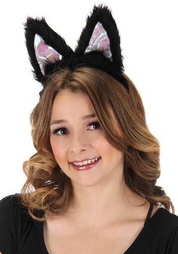 Light-Up Black Cat LumenEars Headband Update