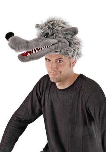 Plush Big Bad Wolf Hat