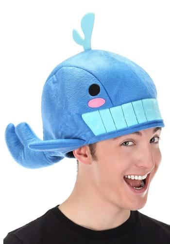 Quirky Kawaii Blue Whale Hat