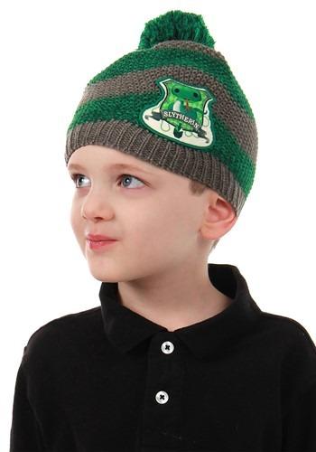 Slytherin Toddler Knit Beanie