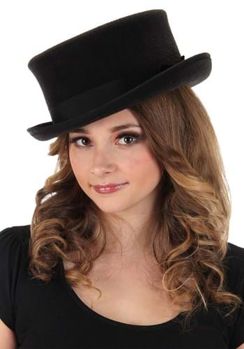 Black John Bull Top Hat