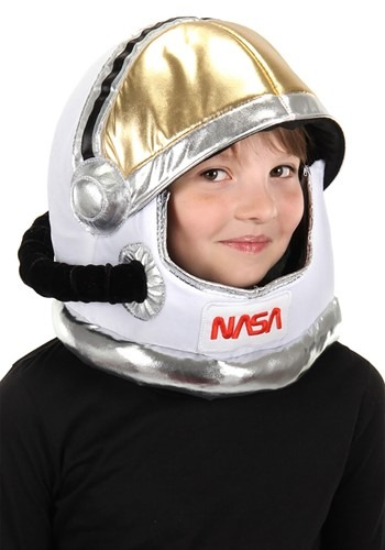 Kids Space Plush Helmet