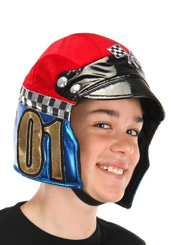 Kids Racer Plush Helmet