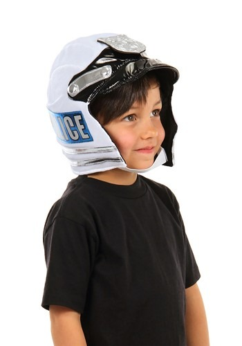 Click Here to buy Police Soft Helmet for Kids from HalloweenCostumes, CDN Funds & Shipping