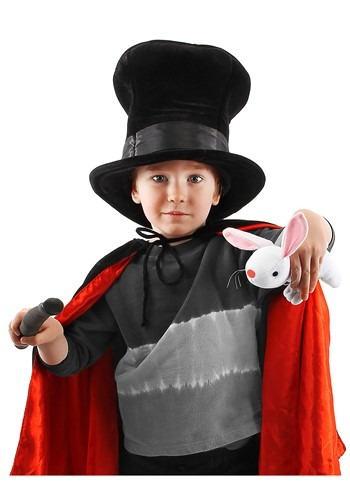 Magician Plush Hat with Rabbit for Kids