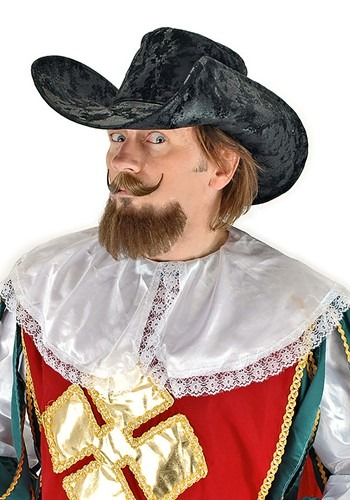 Click Here to buy Black Musketeer Hat from HalloweenCostumes, CDN Funds & Shipping