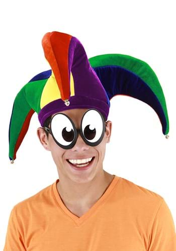 Plush Court Jester Multicolor Hat