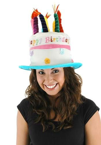 Plush Birthday Cake Hat