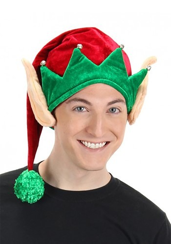 Click Here to buy Adult Soft Elf Hat with Ears from HalloweenCostumes, CDN Funds & Shipping