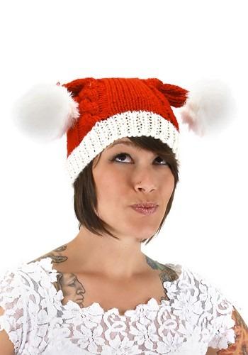Adult Santa Knit Hat