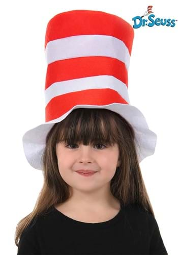 Click Here to buy Kids The Cat in the Hat Felt Stovepipe from HalloweenCostumes, CDN Funds & Shipping