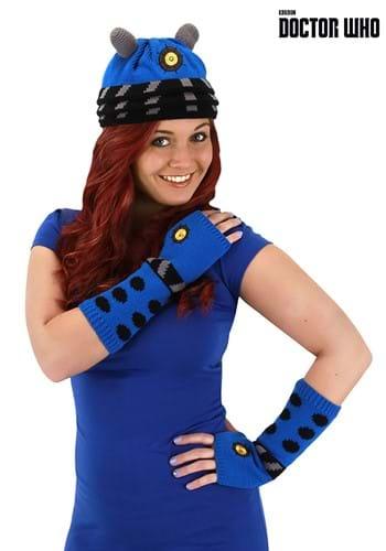 Strategist Dalek Blue Knitted Winter Hat
