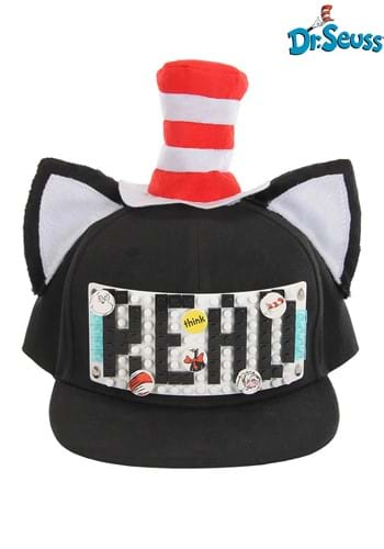 Bricky Blocks Build-On The Cat in the Hat Snapback Hat Kit