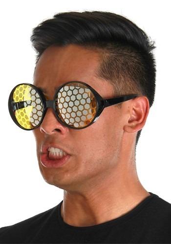 Bug Eyes Black/Yellow Glasses