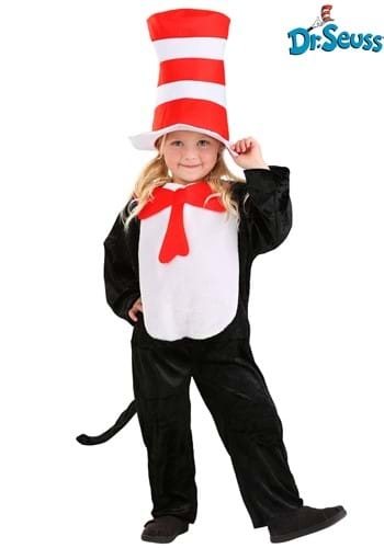 Click Here to buy The Cat in the Hat Toddler Costume from HalloweenCostumes, CDN Funds & Shipping