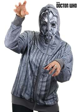 Weeping Angel Men's S Full Zip-Up Hoodie