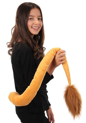 Deluxe Lion Plush Tail