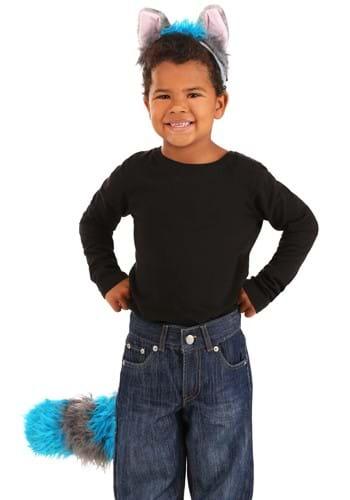 Deluxe Cheshire Headband & Tail Kit Cat Ears