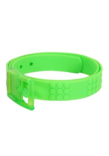 Adjustable Bright Candy Belt Neon Green