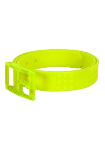 Adjustable Bright Candy Belt Neon Yellow