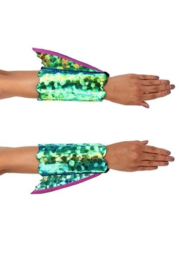 Click Here to buy Seahorse Costume Shimmer Fin Arm Cuffs from HalloweenCostumes, CDN Funds & Shipping