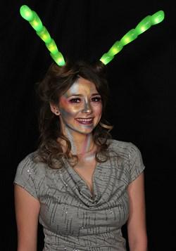 Light-Up Green Insect Antennae LumenHorns