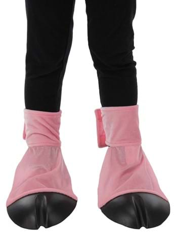 Pink Pig Costume Back Hooves