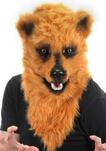 Click Here to buy Brown Bear Mouth Mover Mask Accessory from HalloweenCostumes, CDN Funds & Shipping