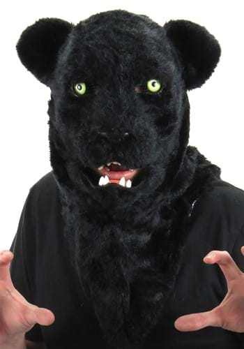 Click Here to buy Mouth Mover Mask Black Panther from HalloweenCostumes, CDN Funds & Shipping