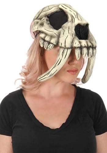 Sabertooth Caveman Skull Mask