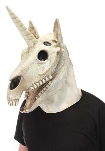 Skull Mouth Mover Unicorn Mask