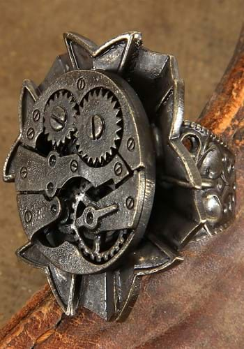 Antique Watch Gears Ring