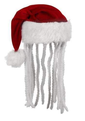 Dread Plush Santa Hat