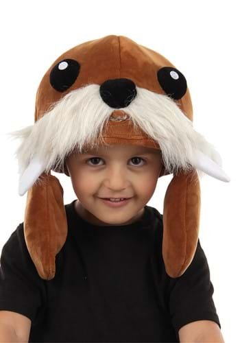 Click Here to buy Brown Walrus Spray Toy Hat from HalloweenCostumes, CDN Funds & Shipping