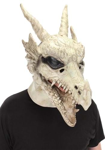Click Here to buy Dragon Skull Mouth Mover Mask from HalloweenCostumes, CDN Funds & Shipping