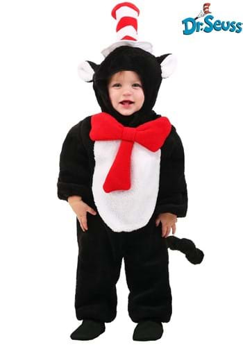 Click Here to buy The Cat in the Hat Deluxe Costume for Babys 12-18 Months from HalloweenCostumes, CDN Funds & Shipping