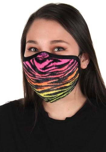 Neon Tiger Face Mask