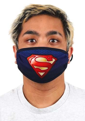 Adult Superman Face Mask