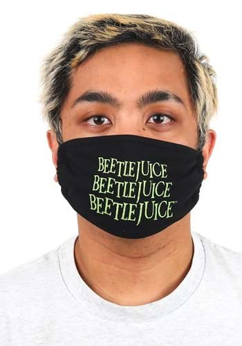 Click Here to buy Beetlejuice Face Mask from HalloweenCostumes, CDN Funds & Shipping