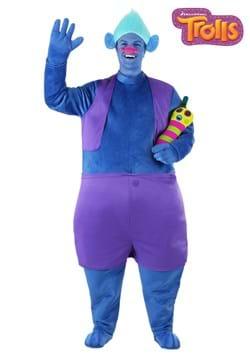 Trolls Adult Plus Size Biggie Costume