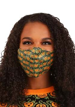 Adult Pumpkins Pattern Sublimated Face Mask