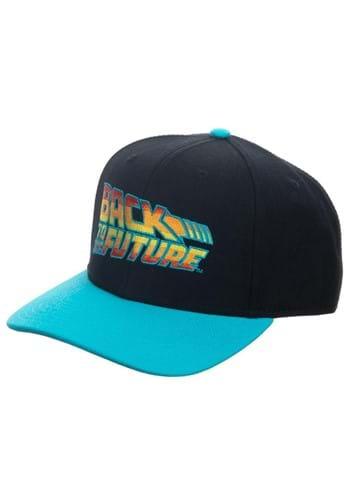 Back to the Future Flat Bill Snapback