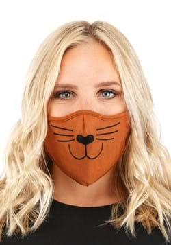 Adult Cat Face Mask Brown