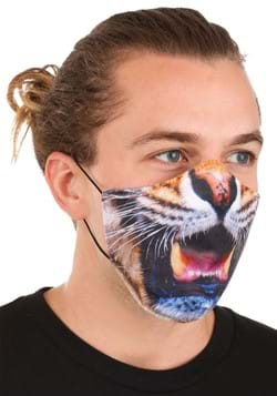 Adult Tiger Sublimated Face Mask