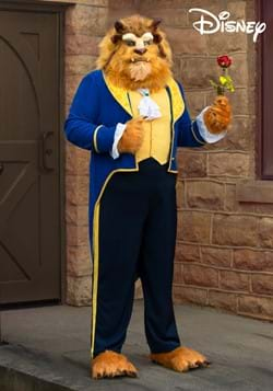 Beauty and the Beast Authentic Beast Plus Size Mens Costume