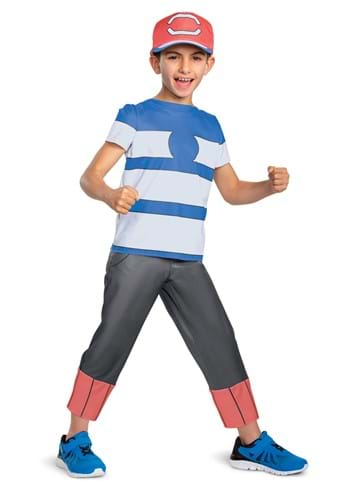 Boys Pokemon Ash Ketchum Classic Costume